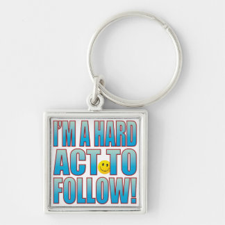 Hard Act Life B Keychain