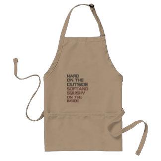 hard adult apron