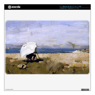 Hard at it by Sir James Guthrie Skins For MacBook