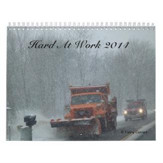 Hard At Work 2014 Wall Calendar