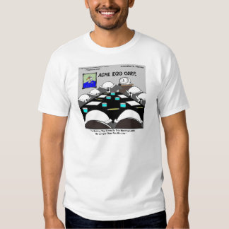Hard-Boiled Corporate Meeting Funny Tee Shirt