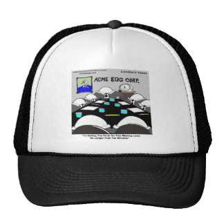 Hard-Boiled Corporate Meeting Funny Trucker Hat