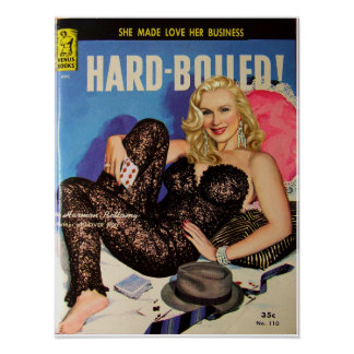 """Hard Boiled"""" Pulp Cover"""" Print"""