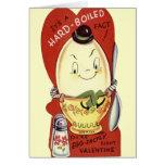 Hard-Boiled Valentine's Greeting Card