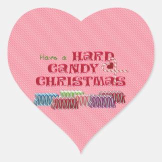 Hard Candy Christmas Heart Sticker