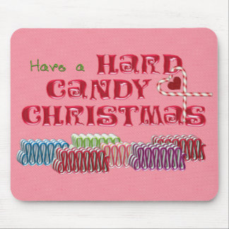 Hard Candy Christmas Mouse Pad
