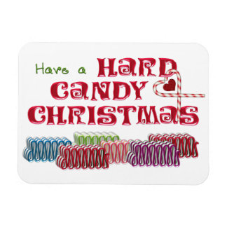Hard Candy Christmas Refrigerator Magnet