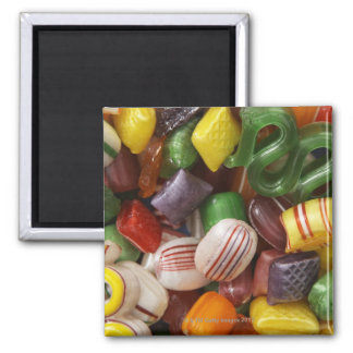 Hard candy, full frame 2 inch square magnet