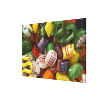 Hard candy, full frame canvas print