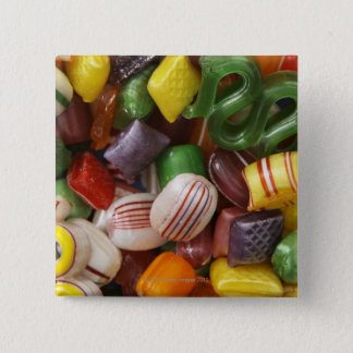 Hard candy, full frame pinback button