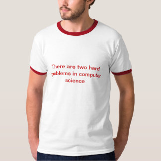 hard computer science problems T-Shirt