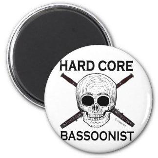 Hard Core Bassoonist! Refrigerator Magnet
