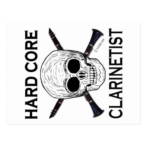 Hard Core Clarinetist Postcard