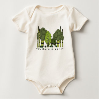 Hard Core Collard Greens Baby Bodysuit
