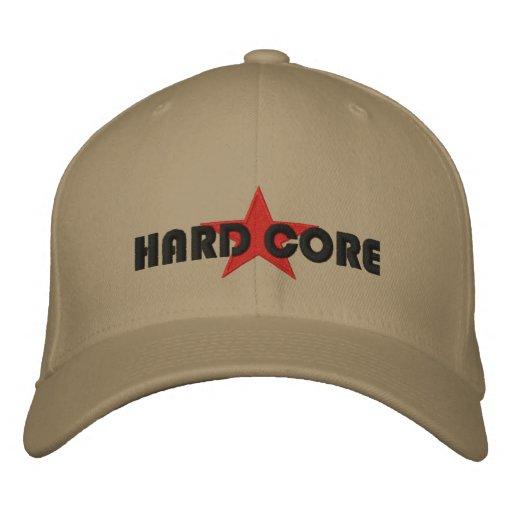HARD CORE EMBROIDERED BASEBALL HAT