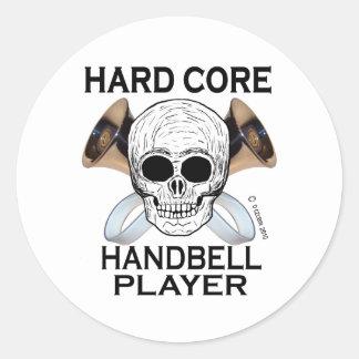 Hard Core Handbell Player Sticker