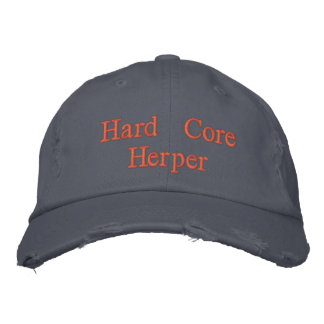 Hard Core Herper Embroidered Hat