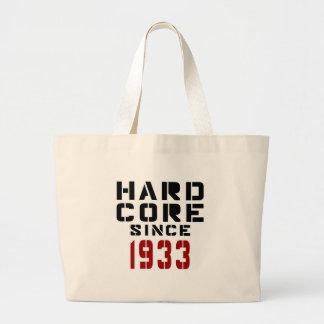 Hard Core Since 1933 Jumbo Tote Bag