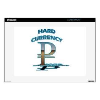 HARD CURRENCY RUBEL LAPTOP DECALS