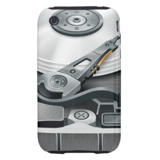Hard Disk Tough iPhone 3 Cover
