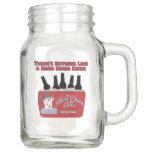 Hard Dixen Cider Mason Jar