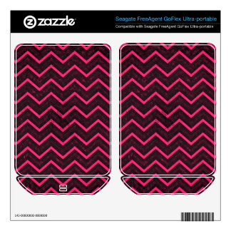 Hard Drive Skin Retro Zig Zag Chevron Pattern FreeAgent GoFlex Decals