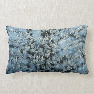 Hard Frost & Tree Nature Abstract Photographic Art Lumbar Pillow