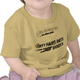 Hard Hat and Boots T Shirts