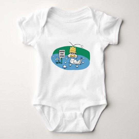 Hard Hat Area Baby Bodysuit