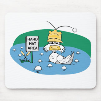 Hard Hat Area Mouse Pad