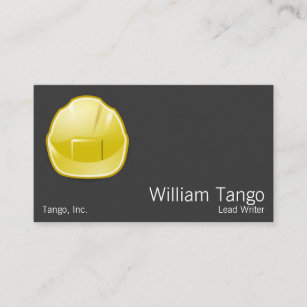 Hard hat business cards zazzle hard hat construction architect business card colourmoves