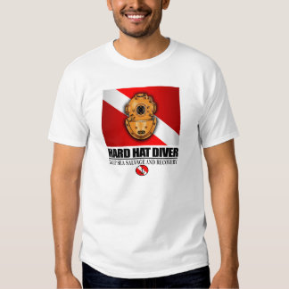 Hard Hat Diver T Shirt