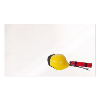 Hard hat dynamite business card