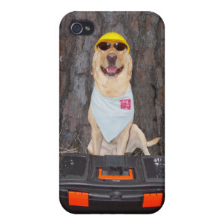 Hard Hat Lab Case For iPhone 4