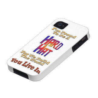 Hard Hat Pride iPhone 4 Cover
