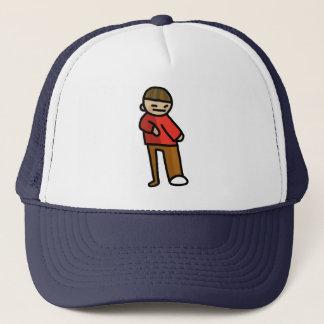 hard hat. trucker hat