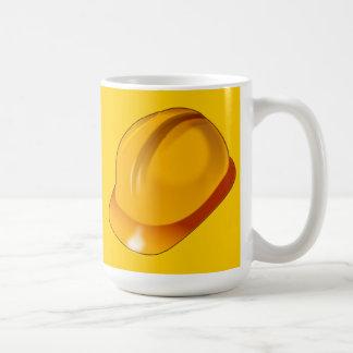 Hard_Hat_Vector_Clipart construction maintenance Coffee Mug