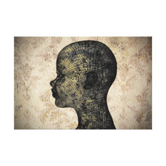 Hard Head Canvas Print