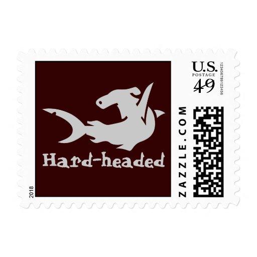 Hard-headed Stamp