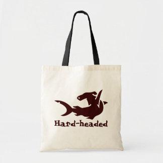Hard-headed Tote Bag