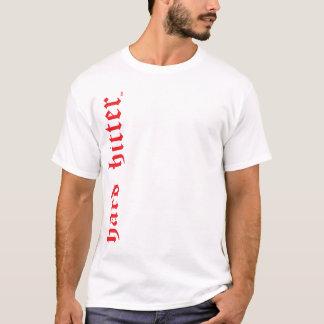 Hard Hitter Gothic Print Muscle Shirt