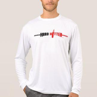 Hard Hitter Logo Micro-Fiber Long Sleeve Tee Shirt