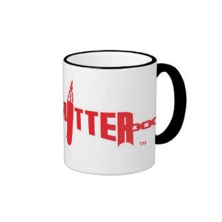 Hard Hitter Logo Ringer Mug