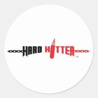 Hard Hitter Logo Stickers