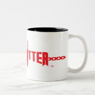 Hard Hitter Logo Two Tone Mug