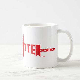 Hard Hitter Logo White Mug