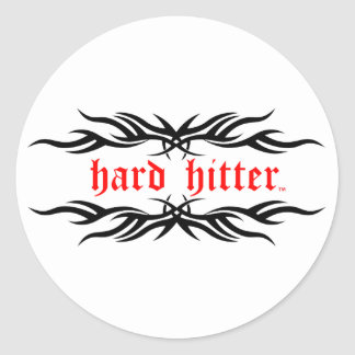 Hard Hitter Tribal Stickers