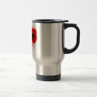 Hard Hitter Victory Stainless Steel Travel Mug