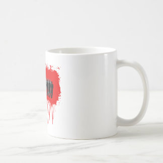 Hard Hitter Victory White Mug