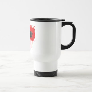 Hard Hitter Victory White Travel Mug
